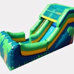 12ft Tropical Water Slide
