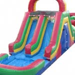 66ft Obstacle Course/Slide Combo