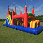 40ft Titan Obstacle Course with Slide