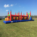 60ft Titan Obstacle Course with Slide